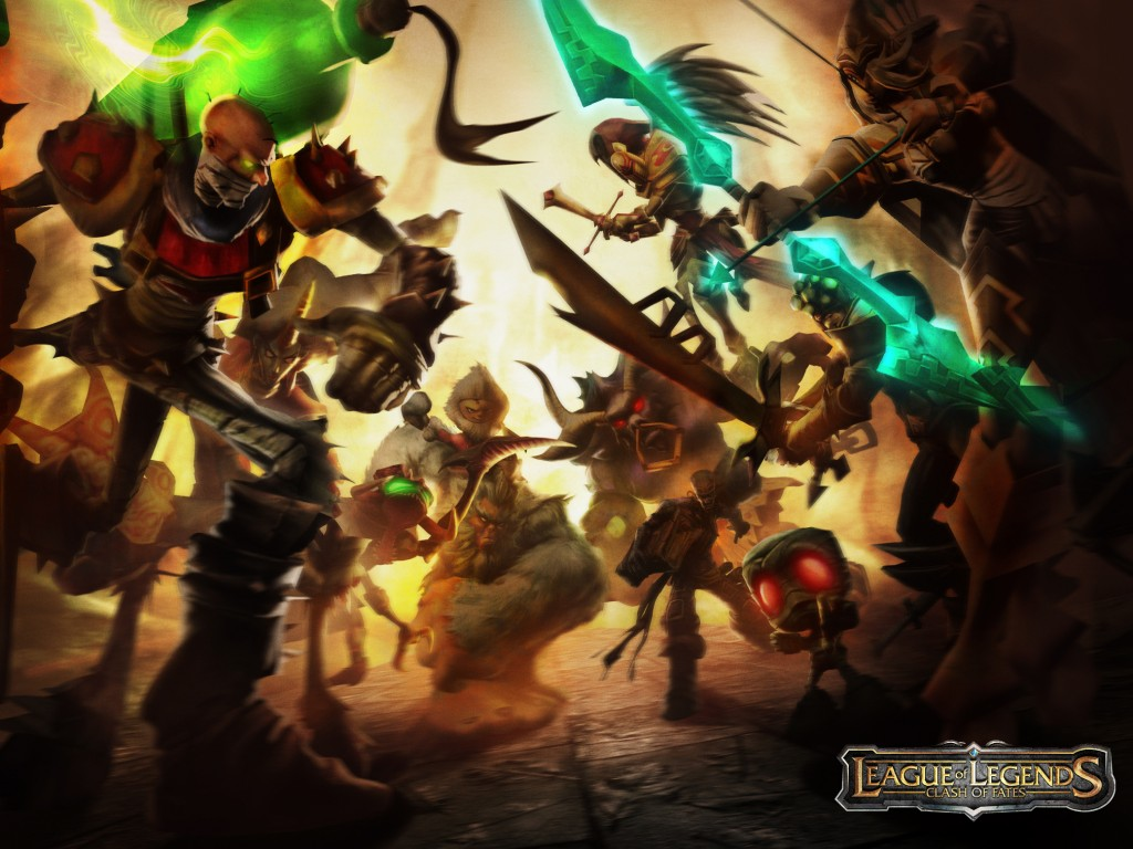 League of Legends wallpaper.